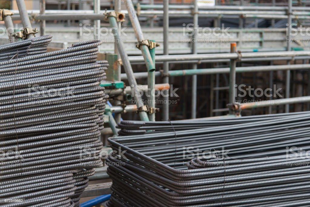 Metal Mesh building stock photo