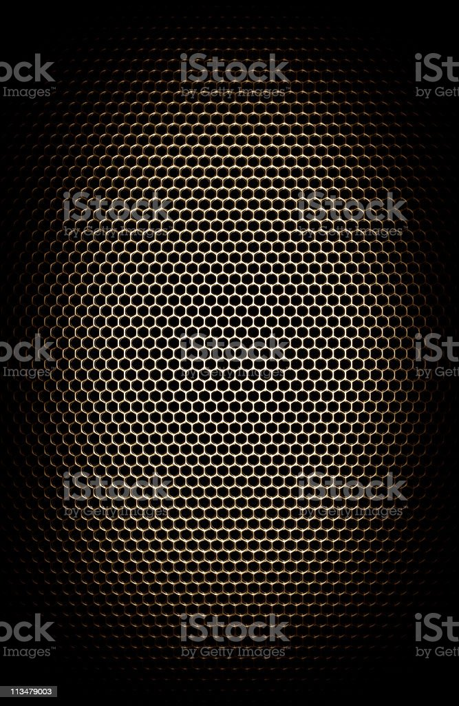 Metal mesh grill. Perfect for background royalty-free stock photo