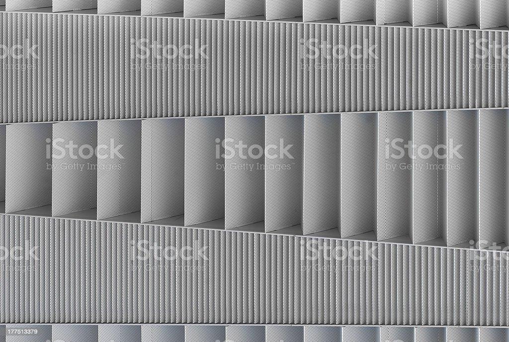 Patrón de malla metálica (montaje en pared) - foto de stock