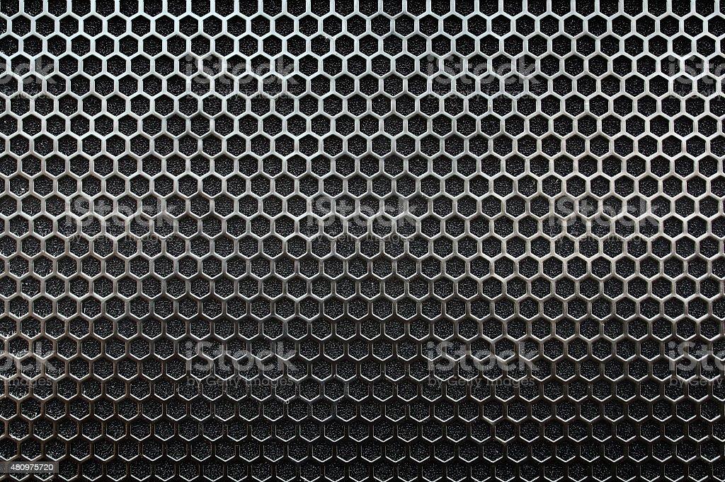metal mesh Seamless Pattern stock photo