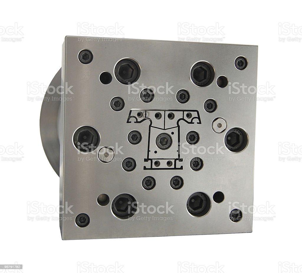 metal mold stock photo