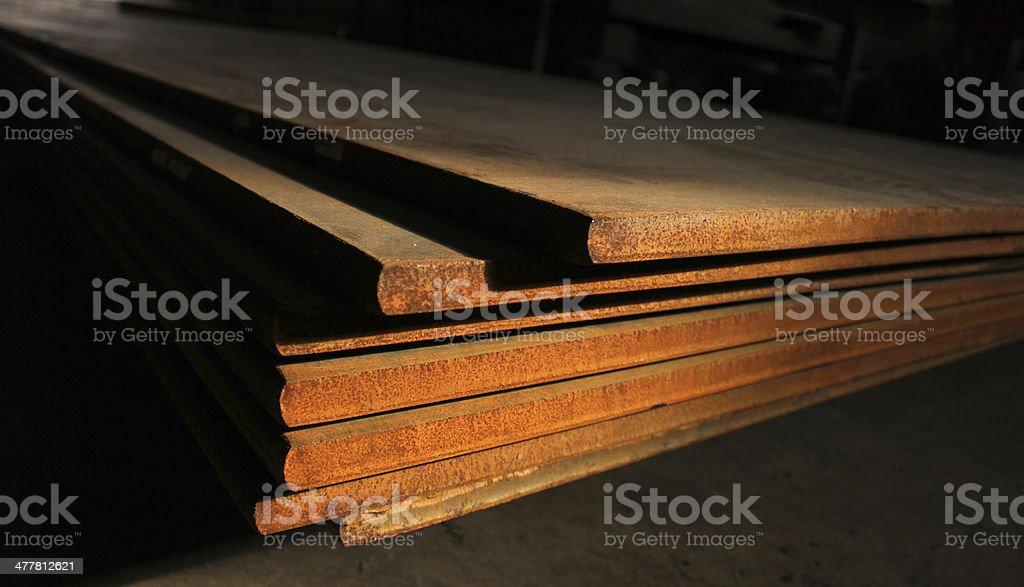 Metal Molding royalty-free stock photo