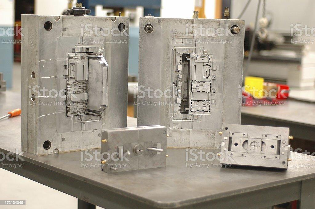 Metal Molding Units royalty-free stock photo