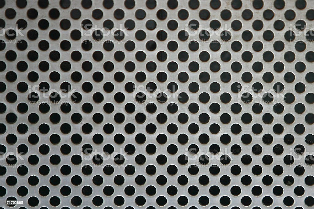 Metal net circle texture background networks with holes royalty-free stock photo