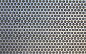 Metal net circle texture background