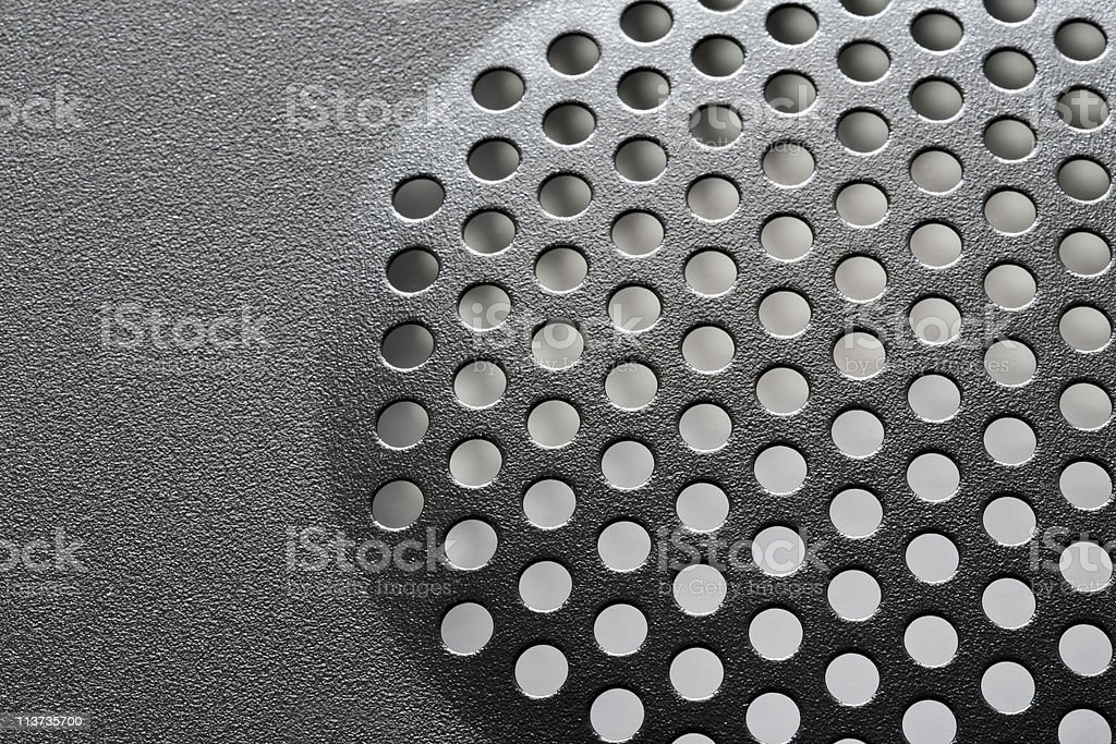 Metal net circle texture stock photo