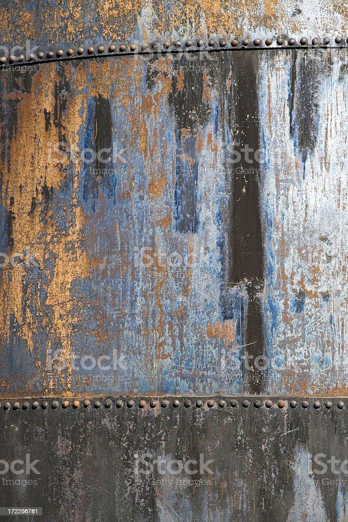 Metal Oil Tank Detail royalty-free stock photo