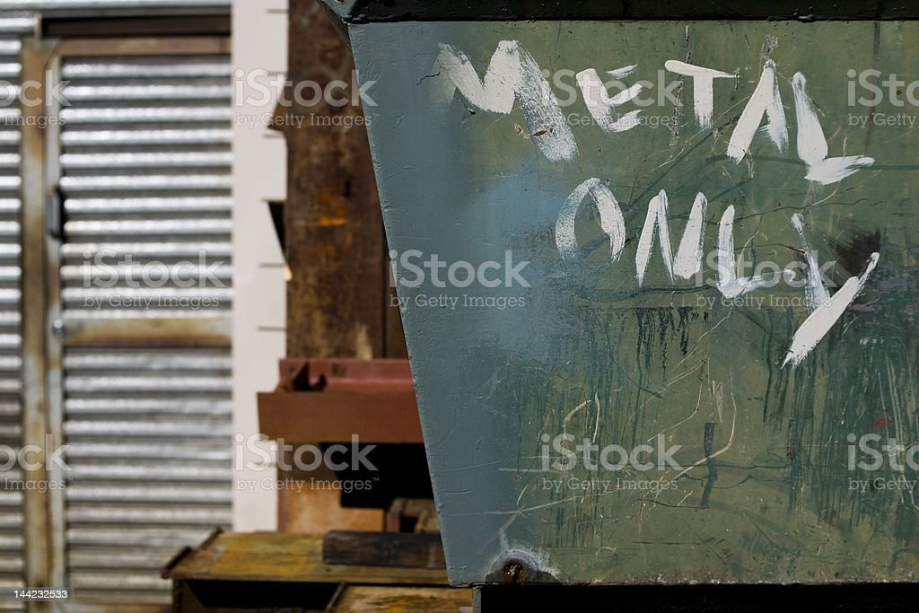 Metal Only royalty-free stock photo