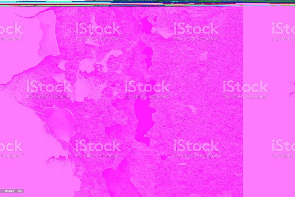 Metal & Paint corrosion royalty-free stock photo