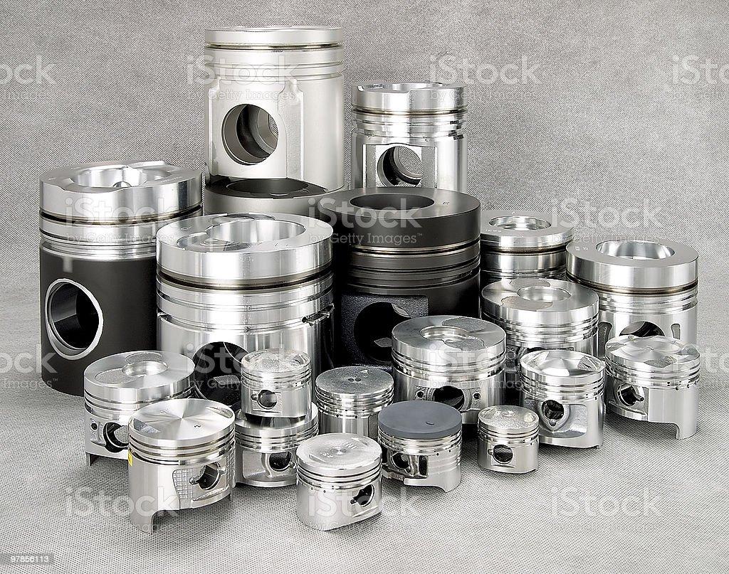 Metal parts royalty-free stock photo