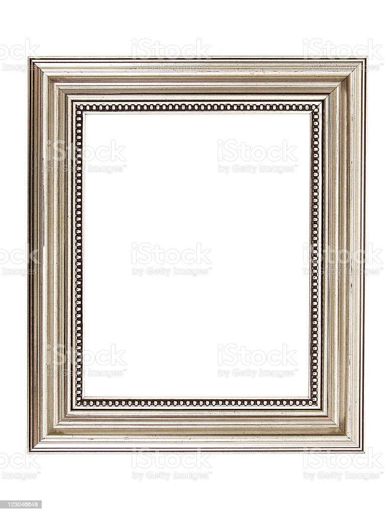 Metal Picture Frame stock photo