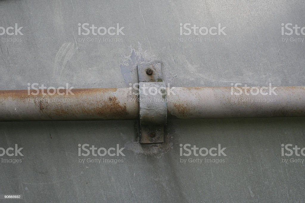 Metal pipe stock photo