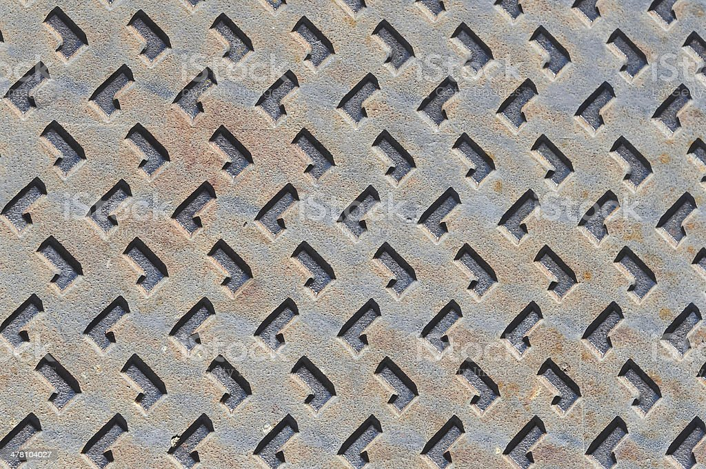 metal plate texture royalty-free stock photo