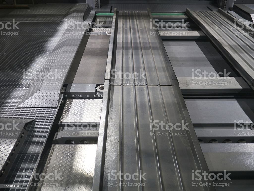 metal plates royalty-free stock photo