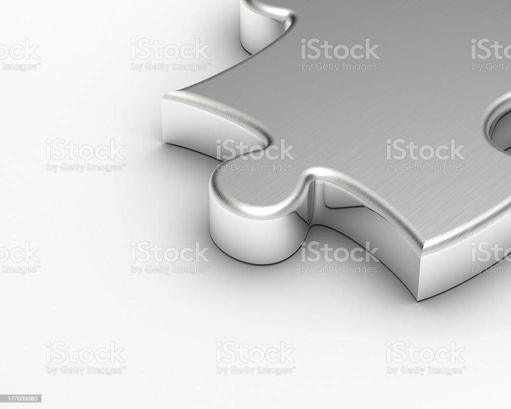 Metal Puzzle royalty-free stock photo