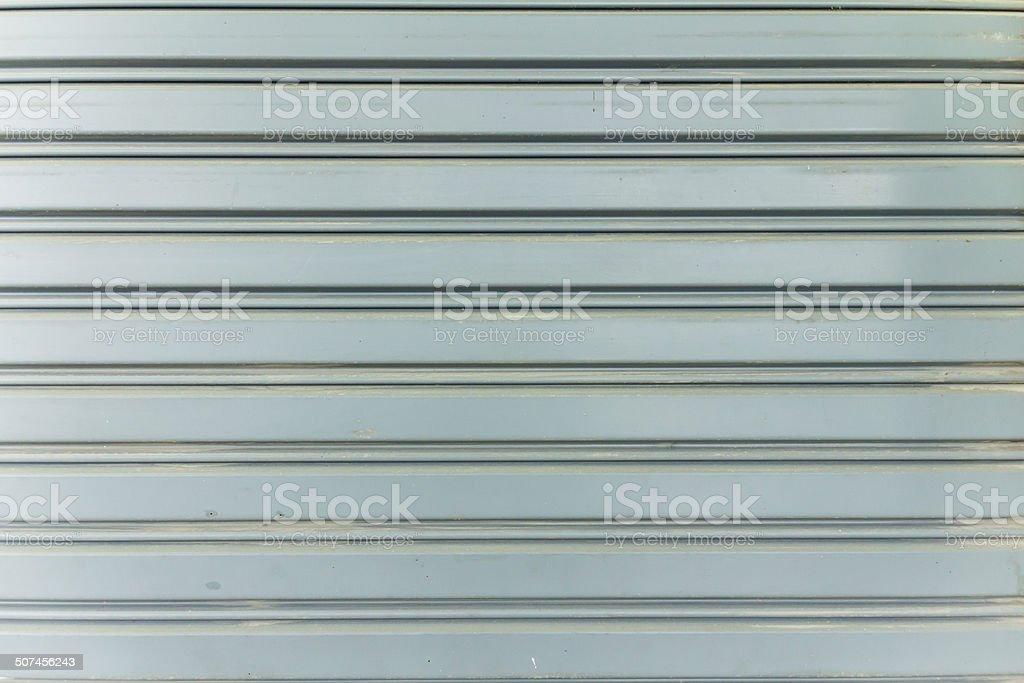 Textur Metall-Rollschnalle Tür Lizenzfreies stock-foto