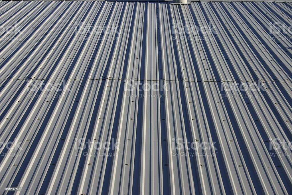 Metal roof #2 royalty-free stock photo