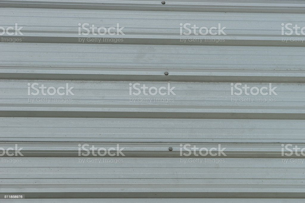 metal roofing on commercial construction stock photo