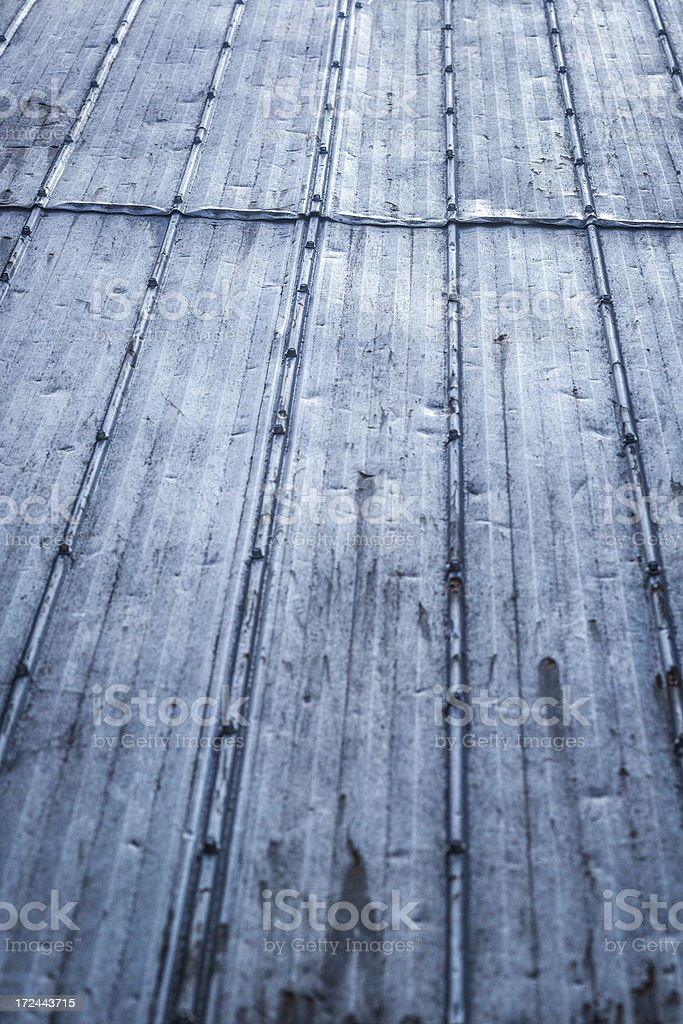 Metal rooftop royalty-free stock photo