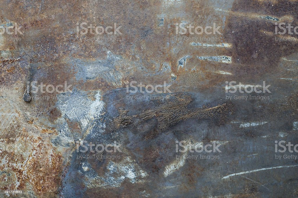 Metal rust royalty-free stock photo