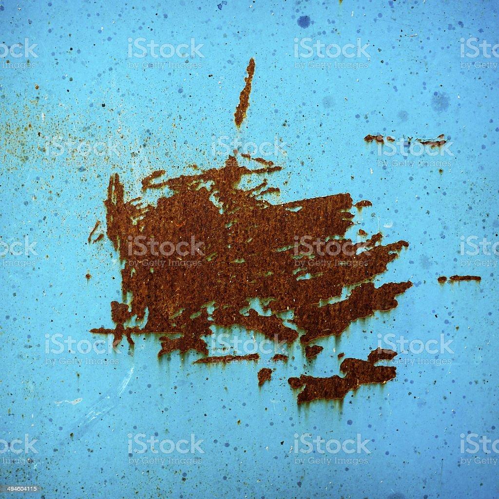 Metal rust royalty-free stock photo