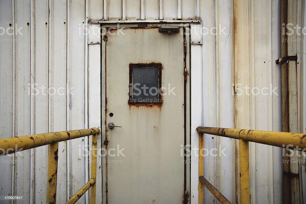Rusty Metal Door industrial door rusty metal door pictures, images and stock photos