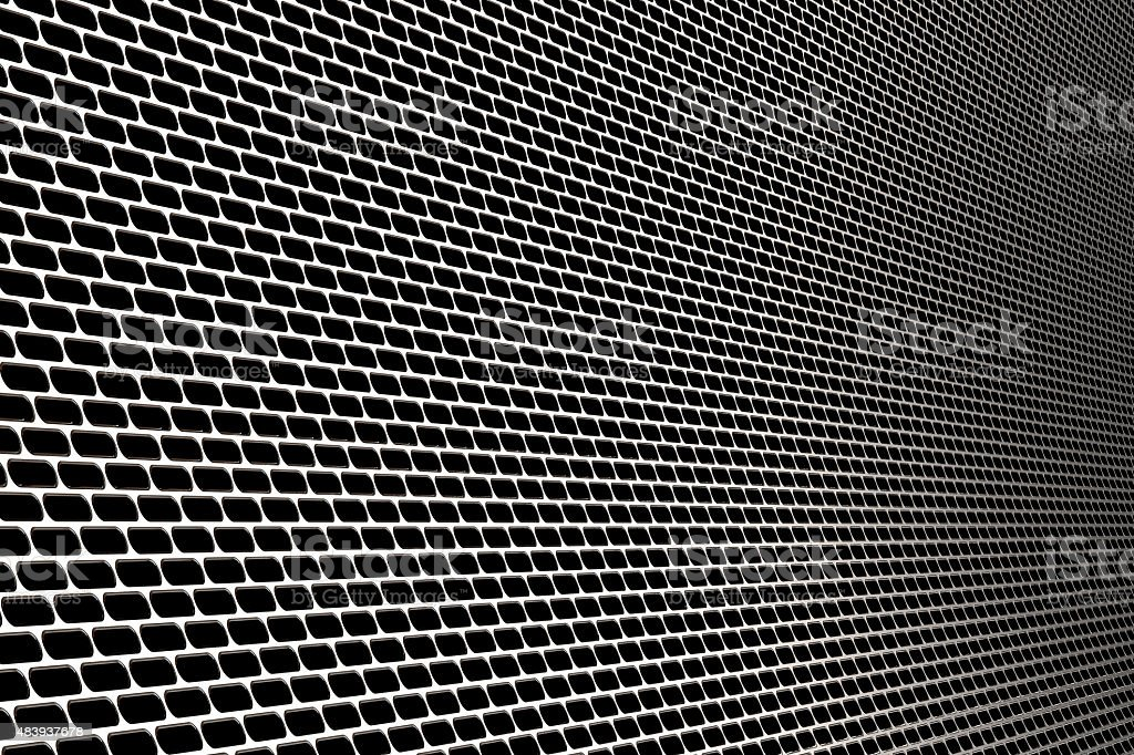metal screen stock photo