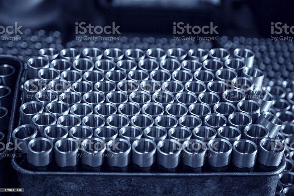 metal screw ordered royalty-free stock photo