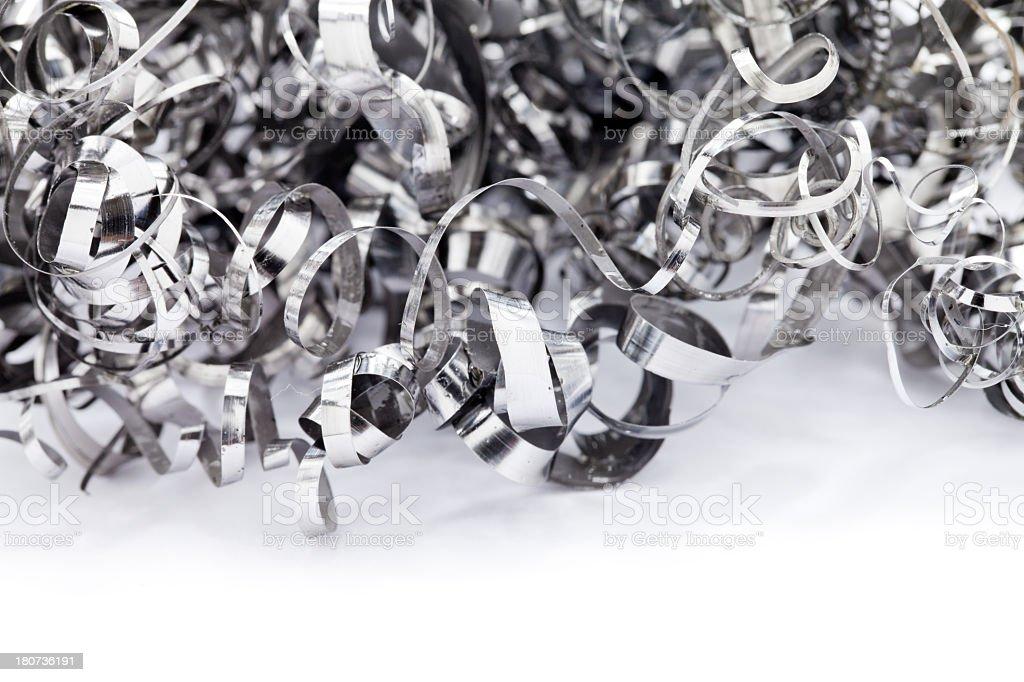 Metal Shavings. stock photo