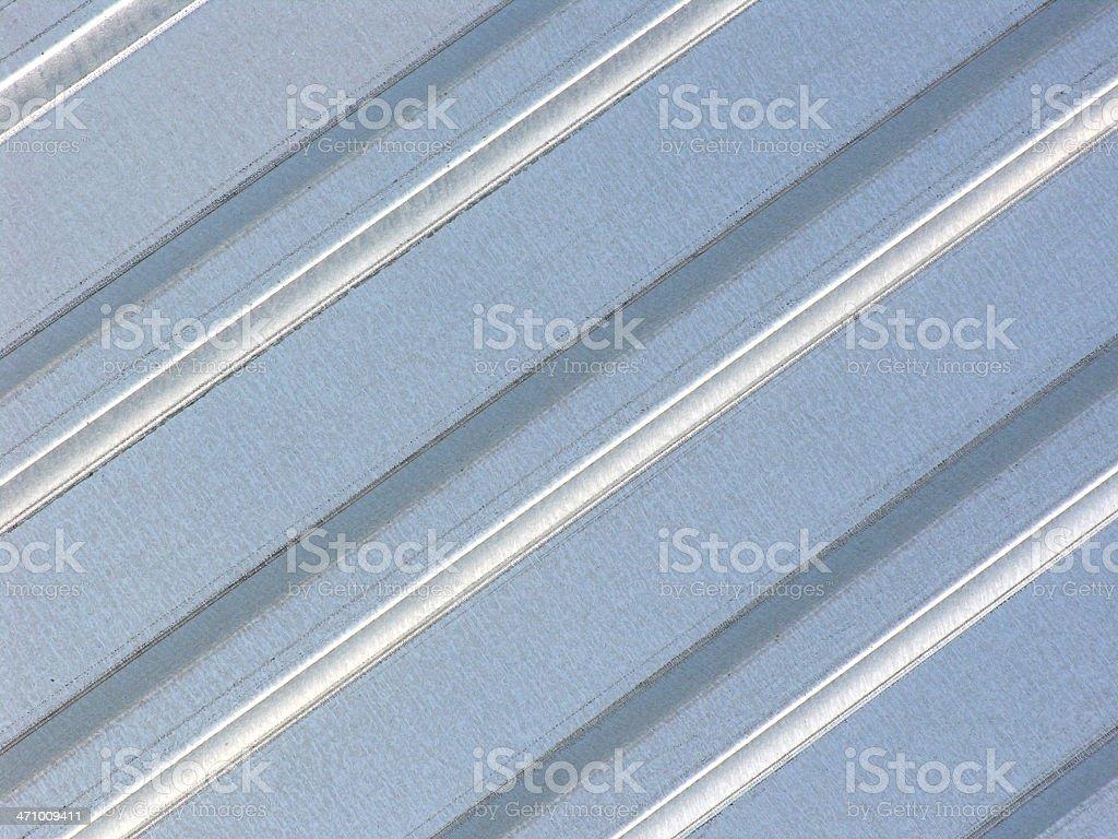Metal sheet - galvanized royalty-free stock photo