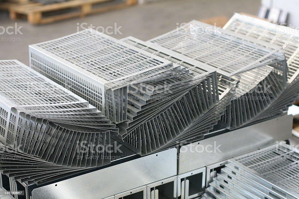 Metal sheet product royalty-free stock photo