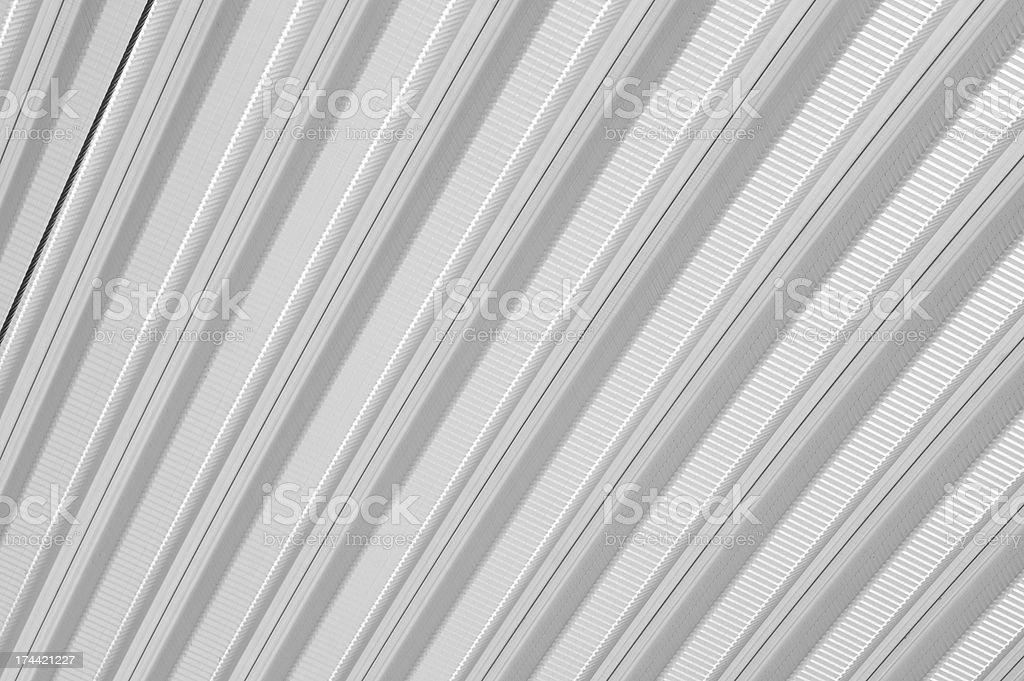 Metal sheet roof pattern royalty-free stock photo