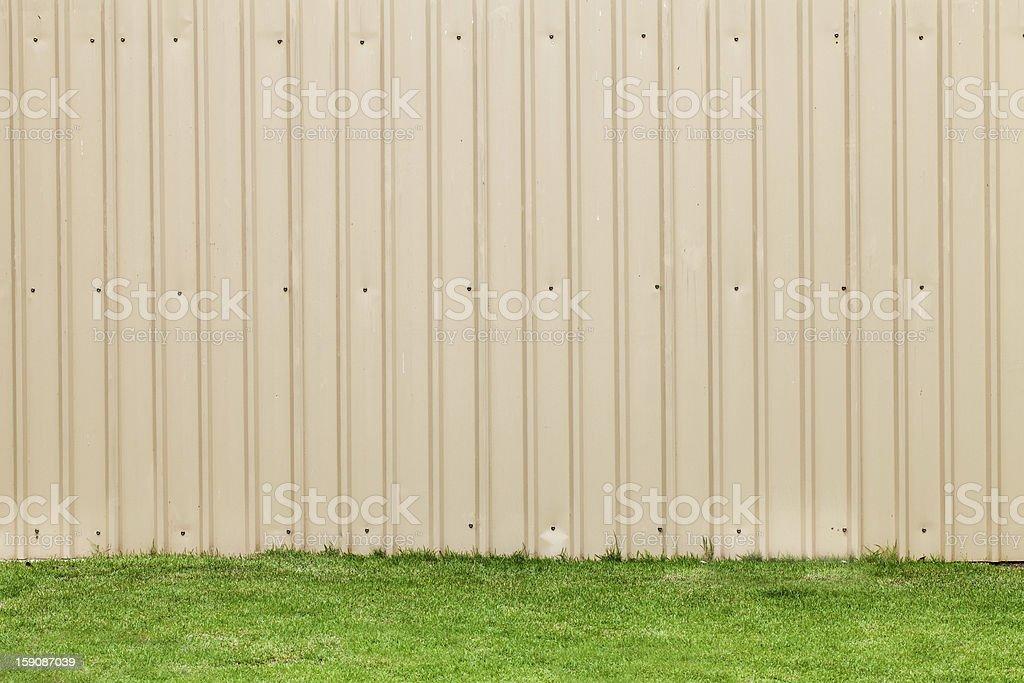 metal sheet wall royalty-free stock photo