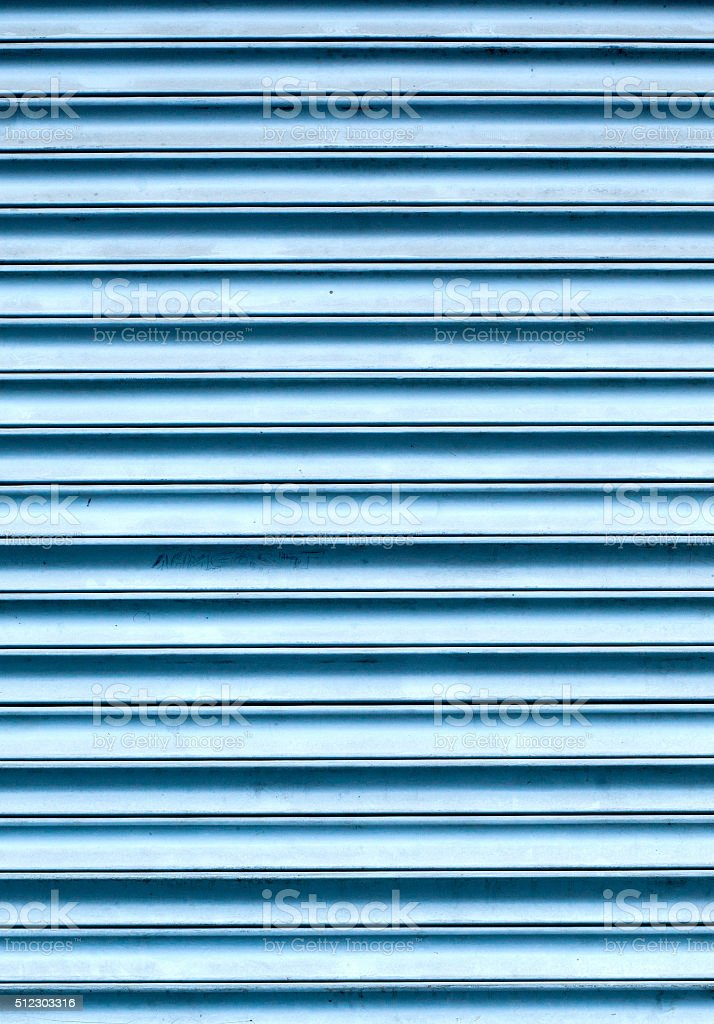 Metal Shutter stock photo