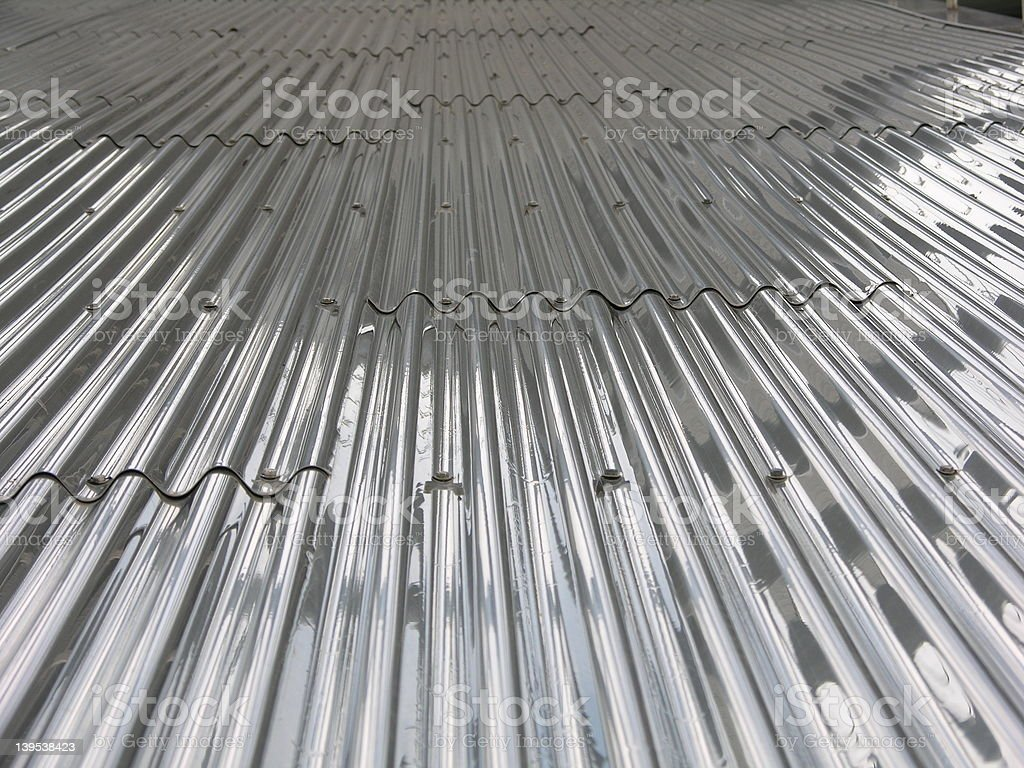 Metal Slope royalty-free stock photo