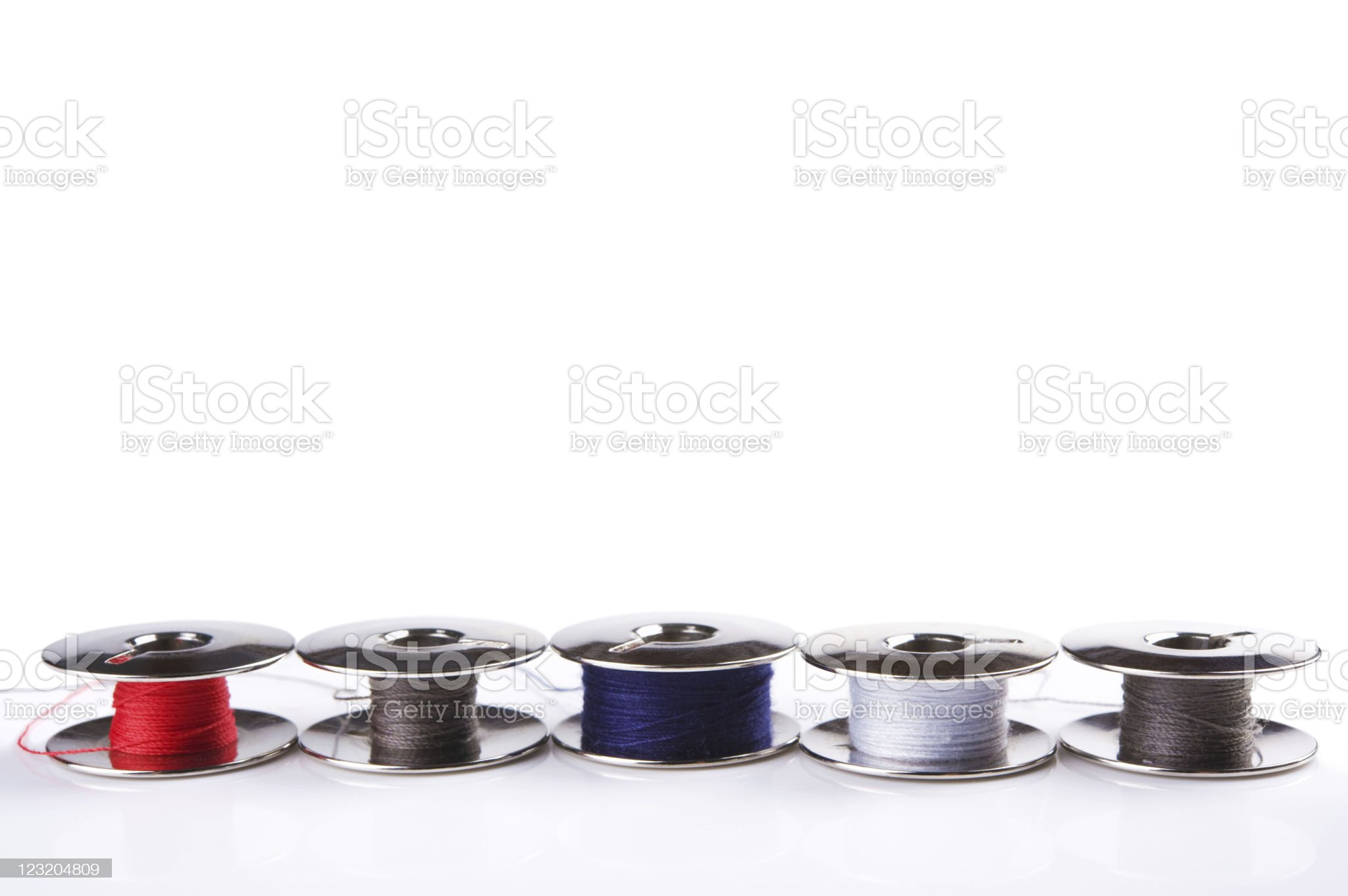 metal spools royalty-free stock photo