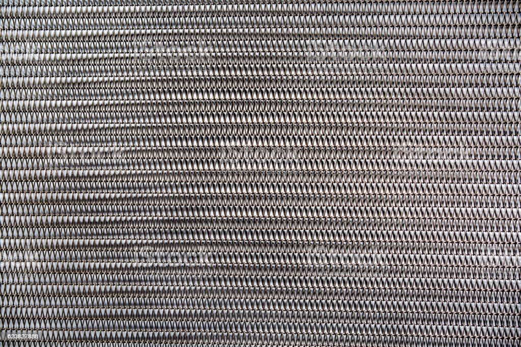 Metal spring background stock photo