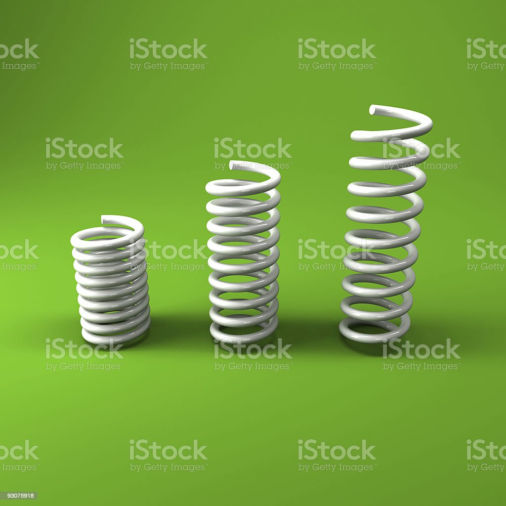 metal spring background royalty-free stock photo
