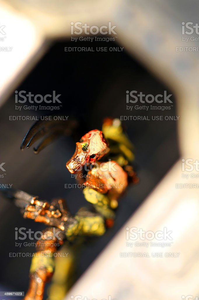 Metal Stalker royalty-free stock photo