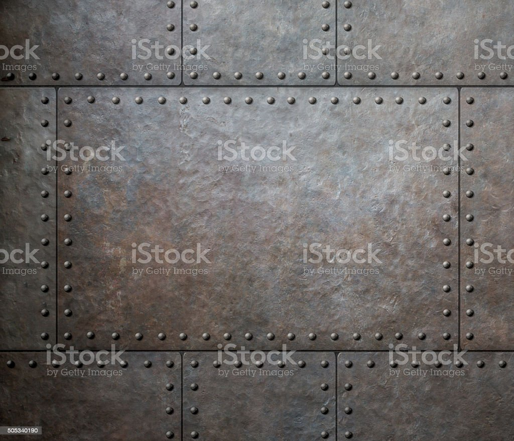 metal steam punk background or texture stock photo