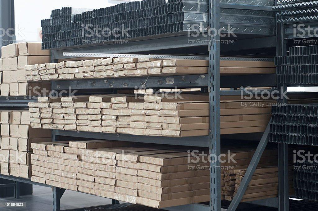 Metal stock stock photo