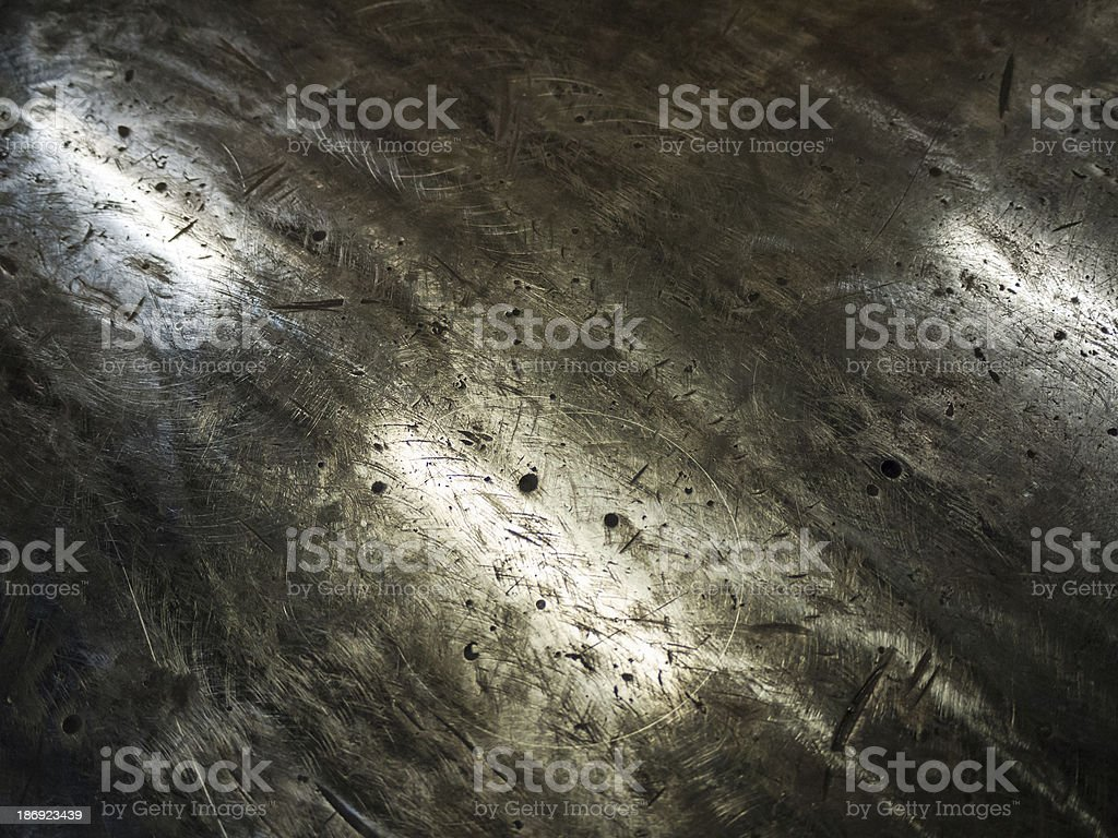 Metal surface background royalty-free stock photo
