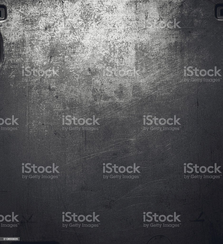 Metal surface. stock photo