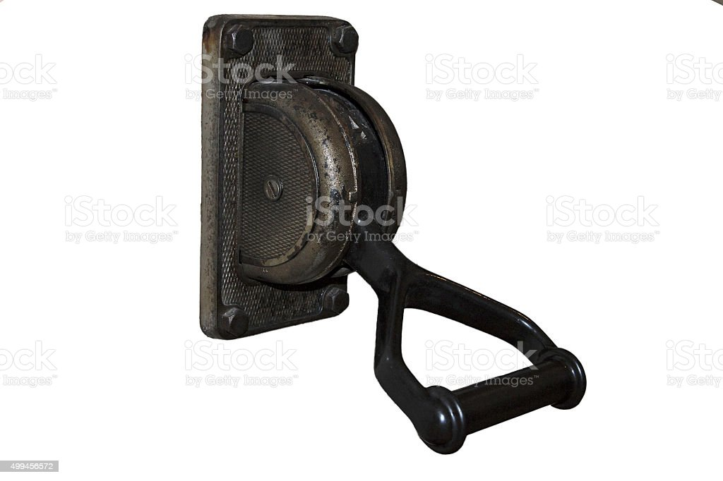 Metal Switch stock photo