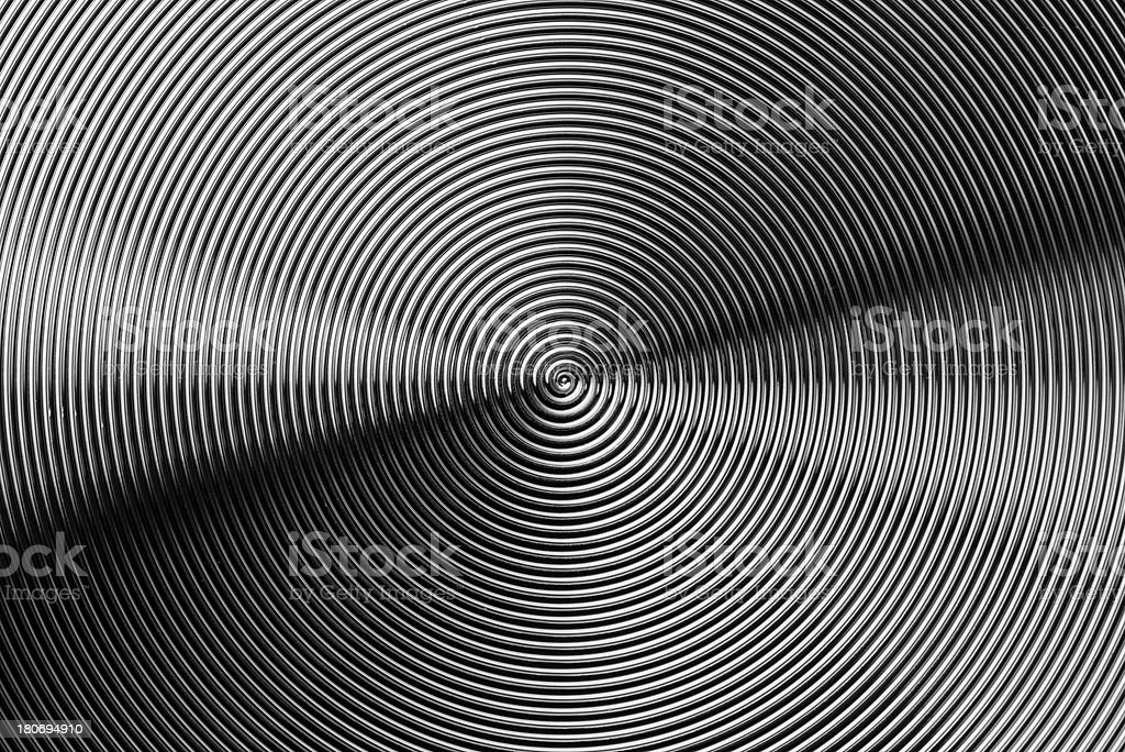 Metal texture abstract background spiral aluminum steel (XXXLarge) royalty-free stock photo