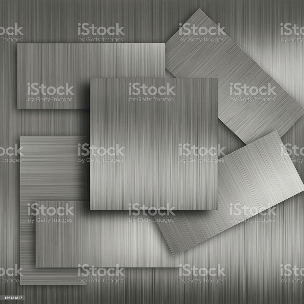 Metal texture with some added highlights and reflections royalty-free stock photo