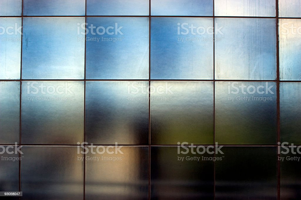 Metal Tile Abstract stock photo