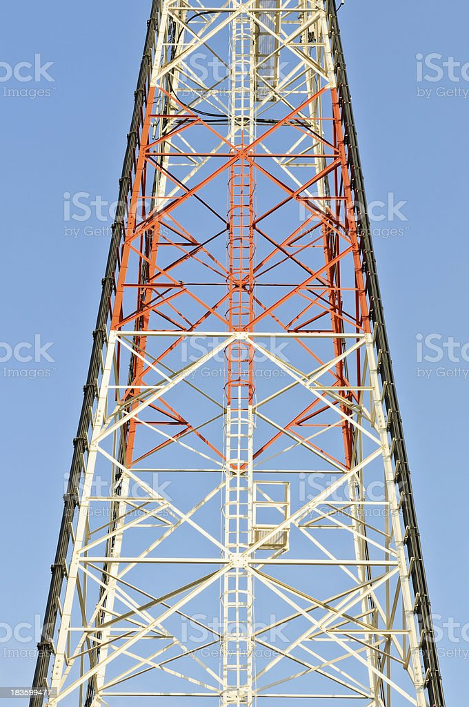 Metal tower royalty-free stock photo