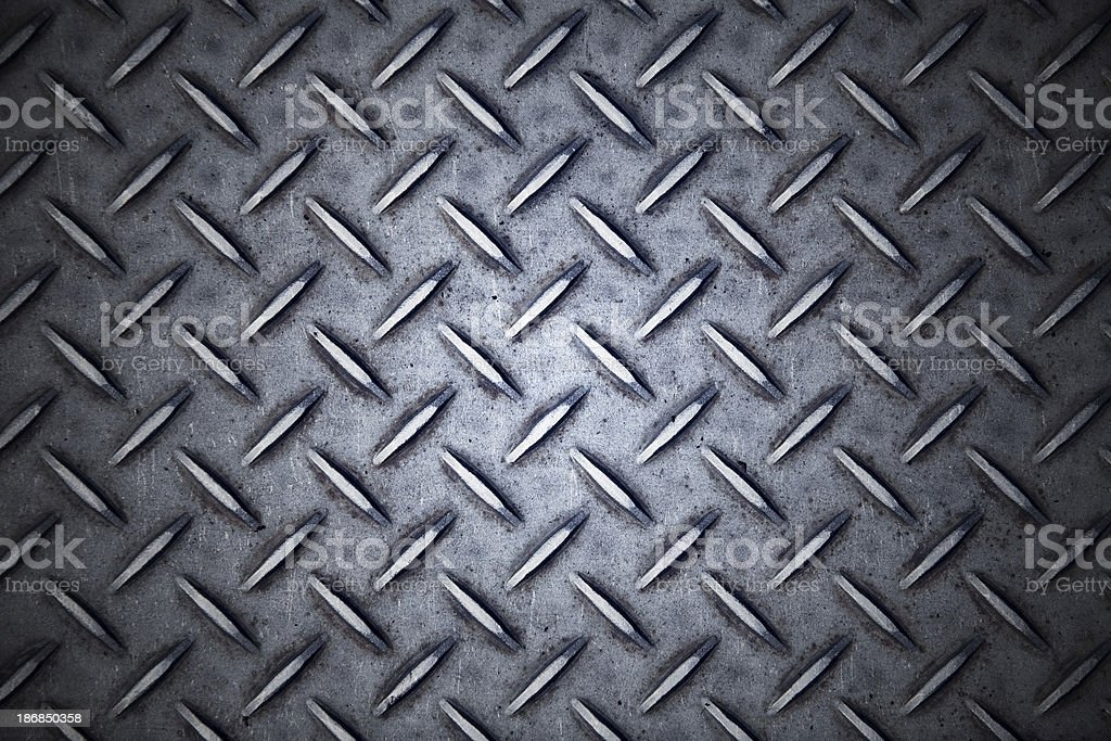 metal treads stock photo