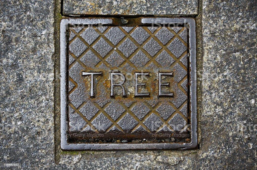Metal Tree royalty-free stock photo